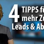 Mit diesen 4 Tipps erstellen Sie Videos, die Ihre Zuschauer begeistern