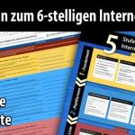 Der erprobte 5-Stufen-Masterplan für ein 6-stelliges Internet-Unternehmen – mit gratis Online-Checkliste