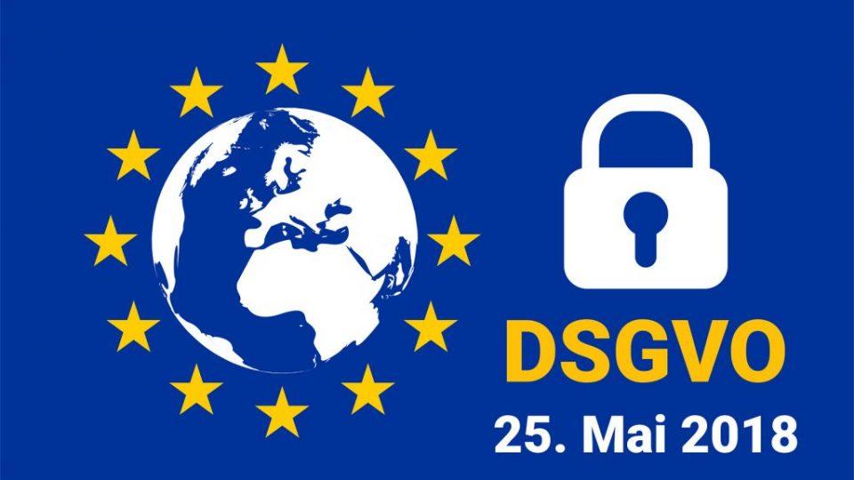 Dsgvo – German Datenschutz-grundverordnung. Gdpr – General Data